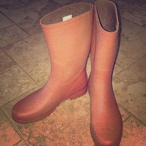Ugg Australia rubber rain boots sienna mid calf